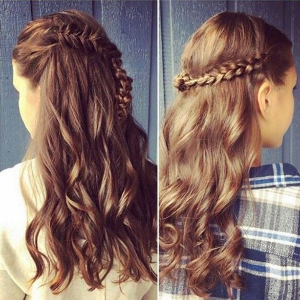 22 New Half Up Half Down Hairstyles Trends: 23 Latest Half Up Half Down Hairstyle Trends For 2016