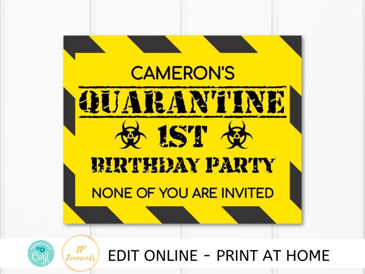 Pin On Diy Printable Birthday Party Invitations