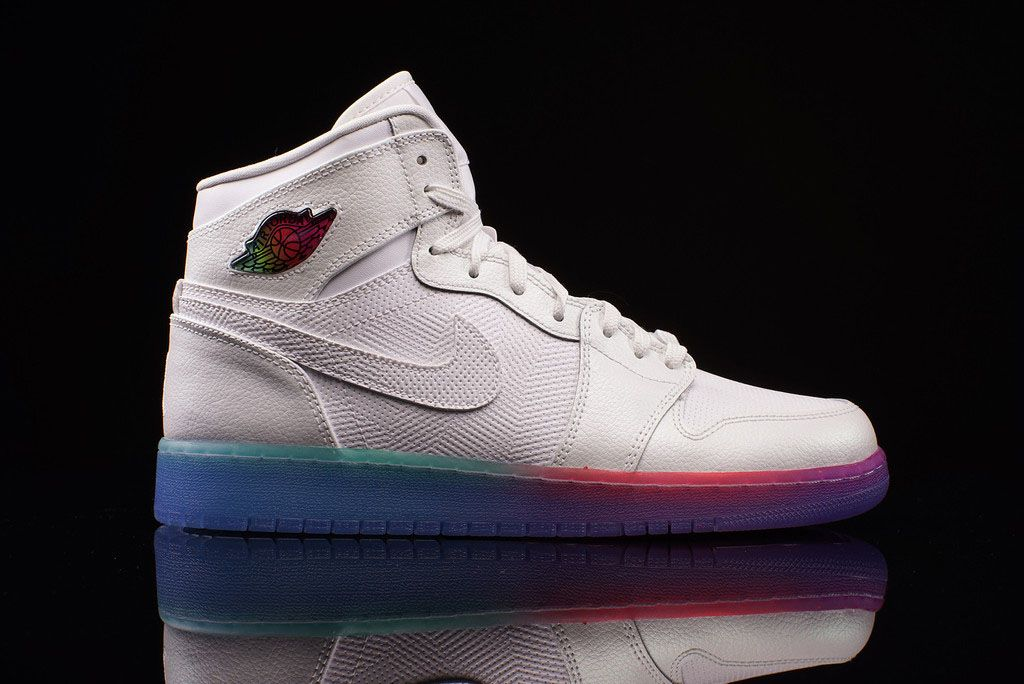 More Multi-Colored Soles for the Air Jordan 1 | Sole Collector