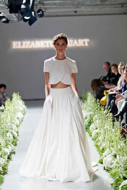41e391e59d 36 Ultra-Glamorous Two-Piece Wedding Dresses   36 Ultra-Glamorous Two-Piece  Wedding Dresses