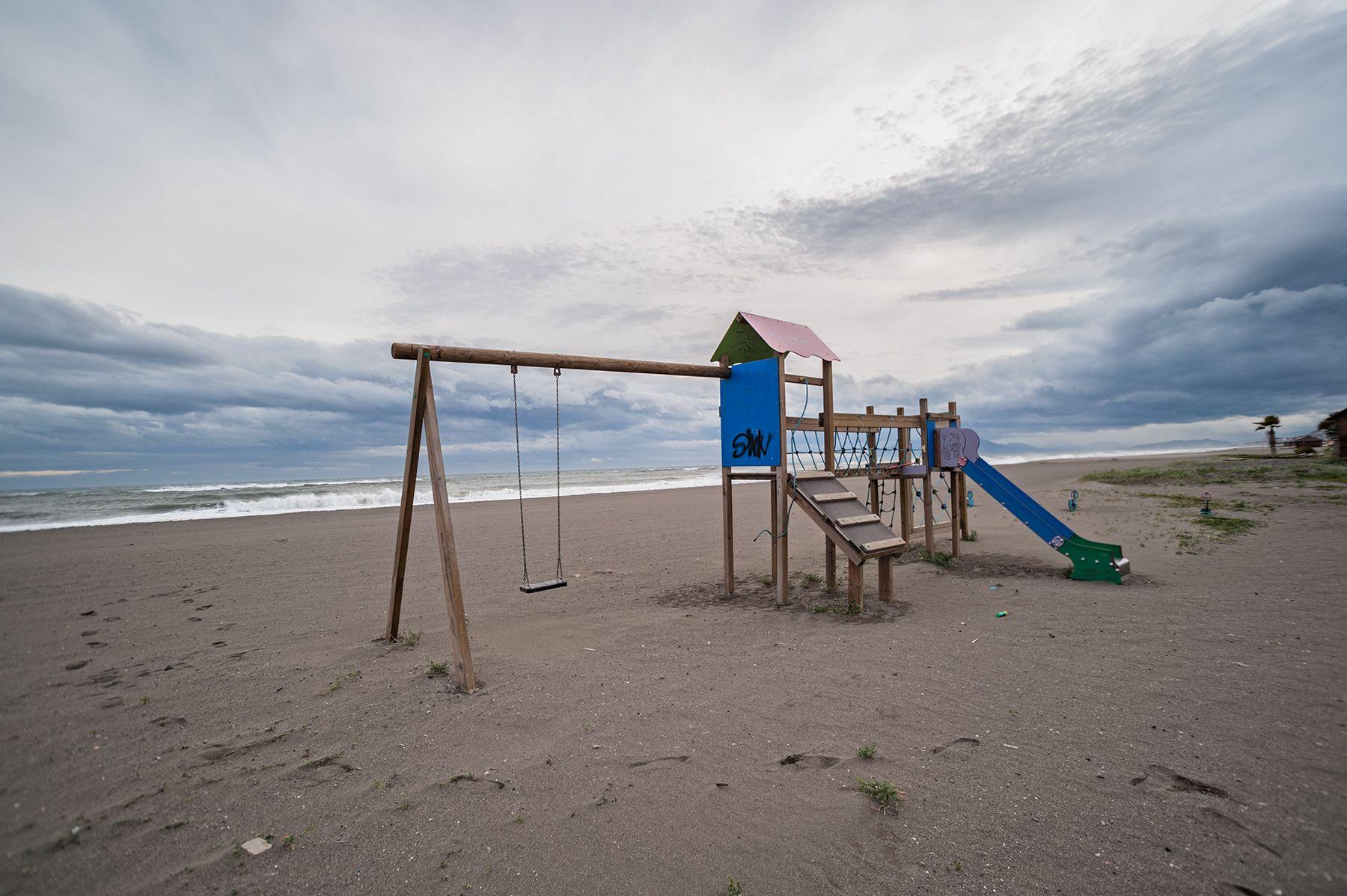 La playa en septiembre