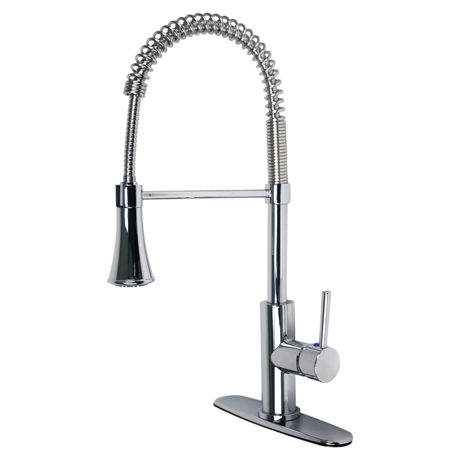 Ultra Faucets Uf17200 Euro Collection Single Handle Kitchen Faucet