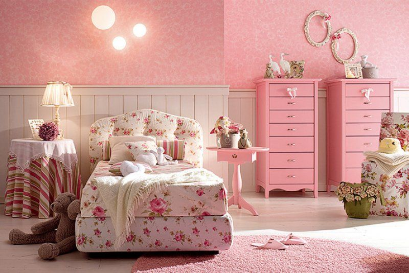 Dormitorios color rosa para ni as ideas para decorar for Disenar tu habitacion online gratis