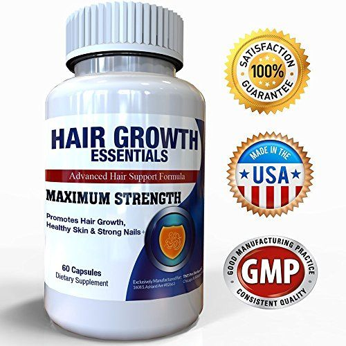 cool Hair Growth Essentials: #1 Rated Hair Loss Supplement for Women and Men - Advanced Hair Regrowth Treatment With 29 Powerful Hair Growth Vitamins & Nutrients for Rapid Growth - 20 Day Supply   Get the healthy hair you've always wanted in without drugs, surgery or dangerous side effects! ★ With 29 hair nourishing ingredients, Hair Growth E…