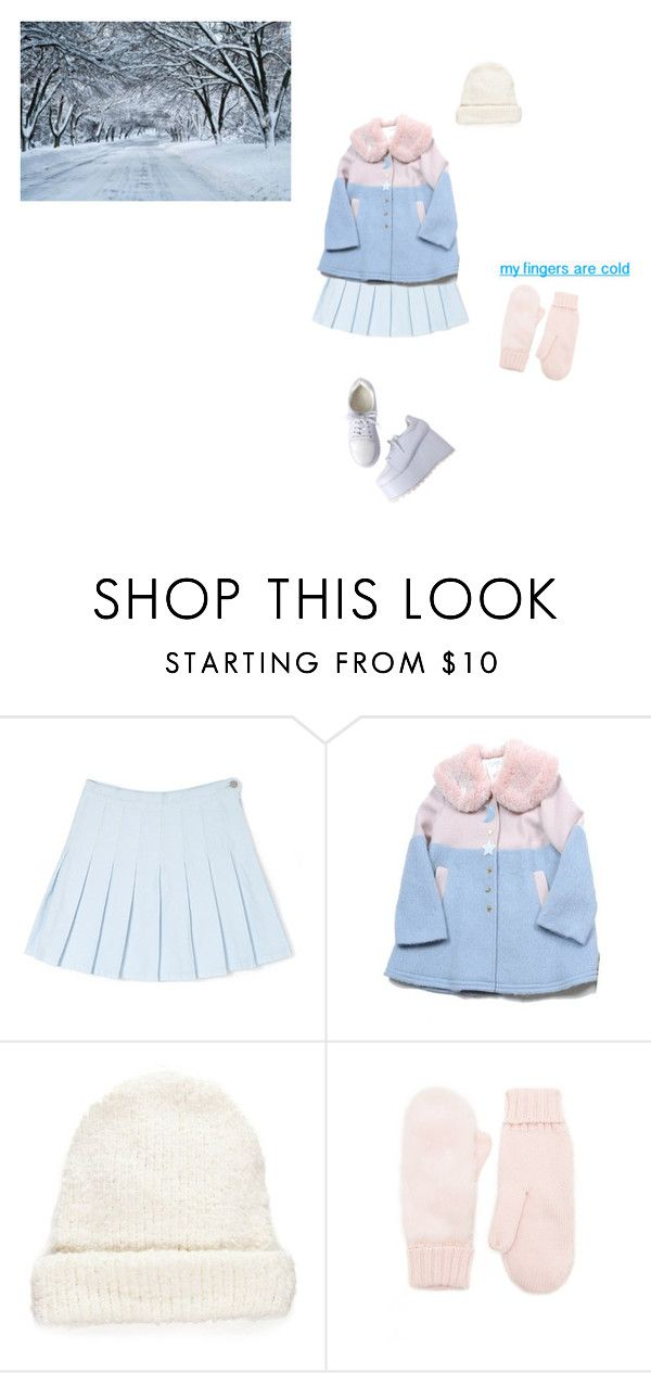 """i can't wait for the first snow"" by pastel-dream-hime ❤ liked on Polyvore featuring Free People and Forever 21"