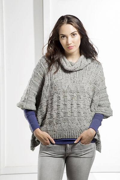 Pin de Grace F en Knitting | Pinterest | Ponchos y Tejido