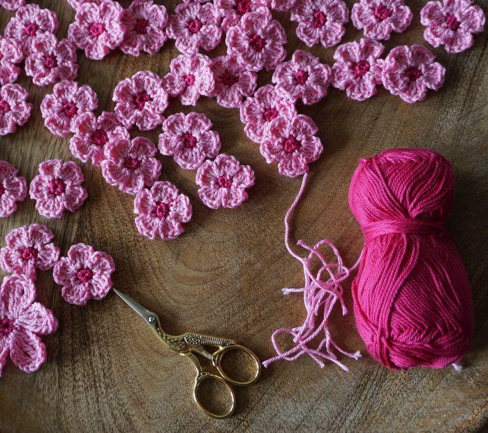 Photo of Mit Hand und Herz: Kirschblüten