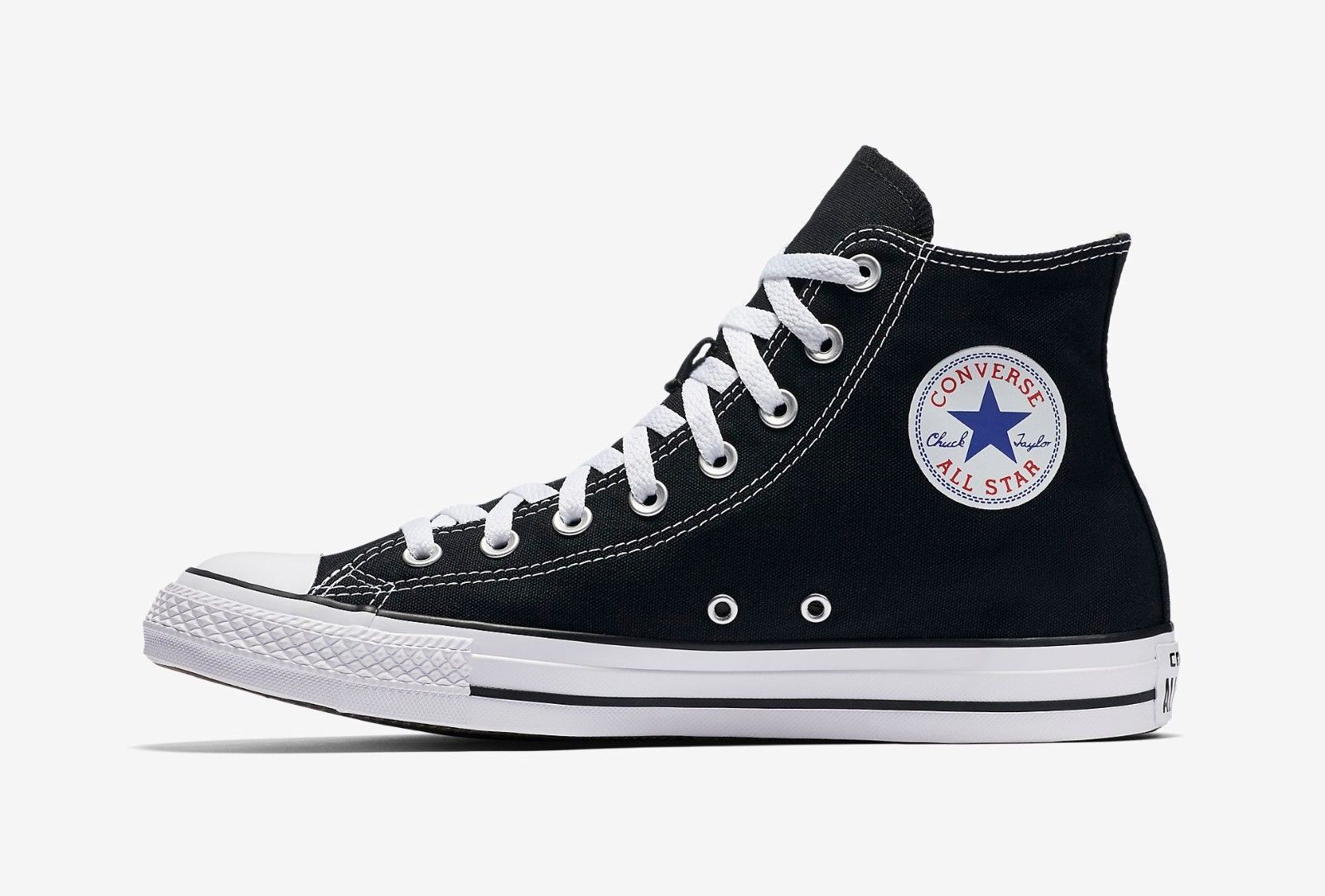 f9a8ef89f8809d Converse Chuck Taylor All Star High Top Canvas Men Shoes M9160 Black White