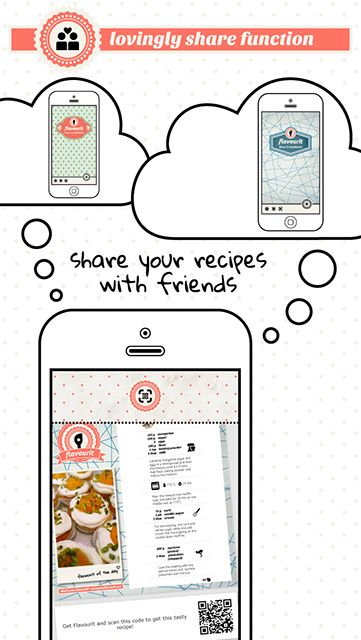 get flavourit on the App Store or on Google Play - more info on yourflavourit.com #flavourit #foodapp #cookbook #recipe #organizer