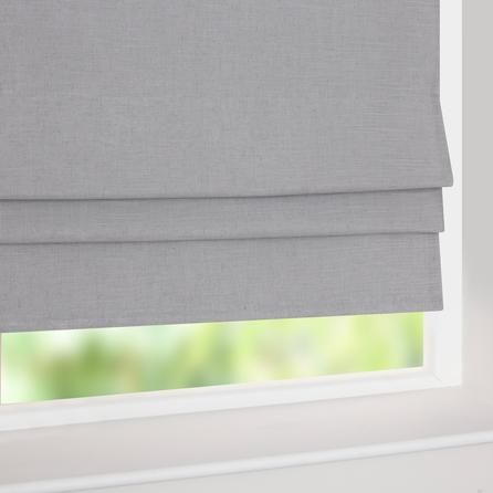 grey linen blackout roman blind dunelm mill jacobs. Black Bedroom Furniture Sets. Home Design Ideas