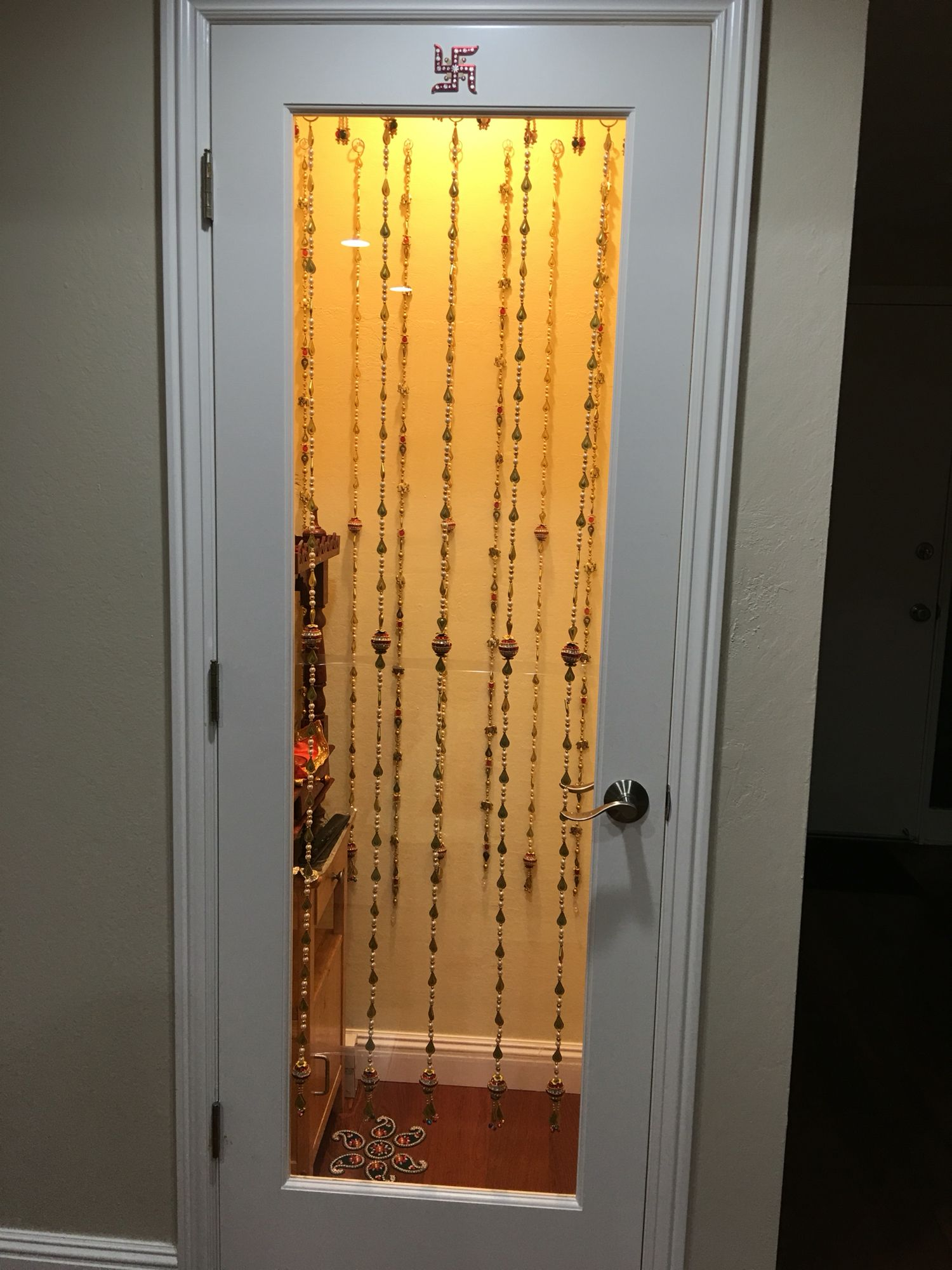 My New Puja Room! A Coat Closet Turned Into Puja Room. My