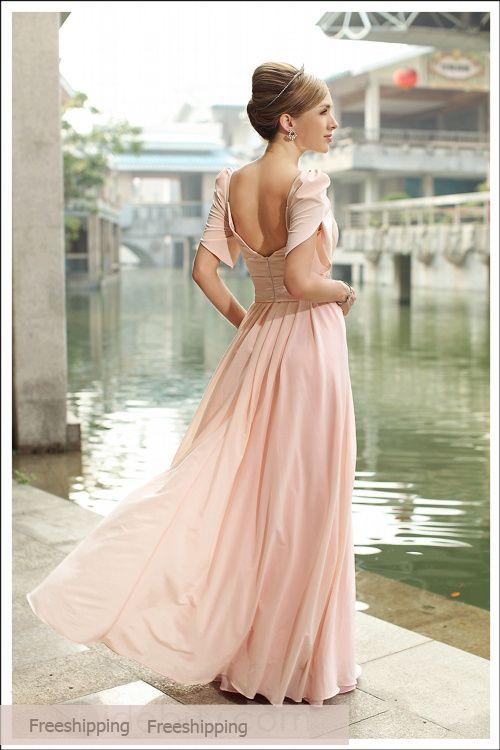 Cheap Gorgeous A-line Square Neckline Prom Dress 2013 at TheDressUnion.com