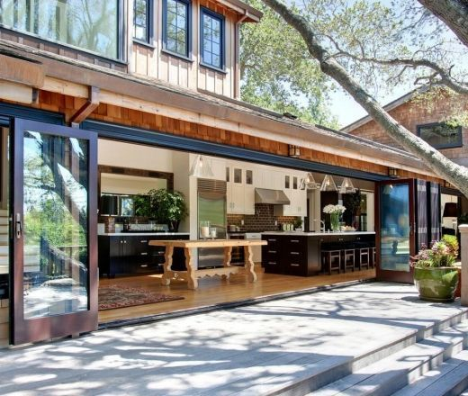 11 Simple Pretty Outdoor Kitchen Cabinet Ideas That Modern And Stylish #barndominiumideas