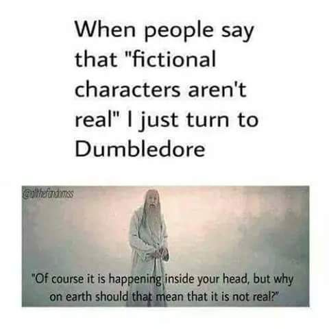 17 Things You'll Relate to If Fictional Characters Are Your Best Friends #fictionalcharacters