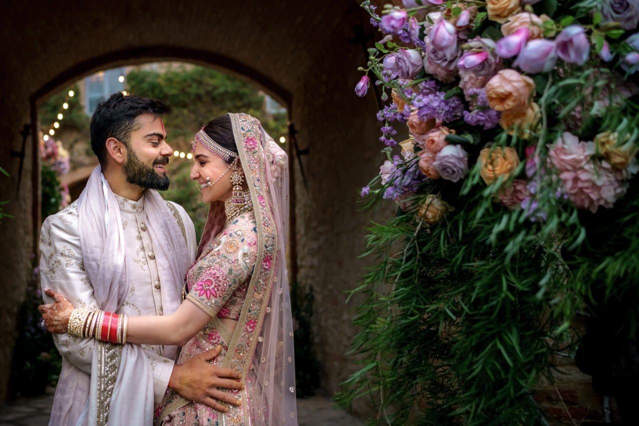 Pin by Behirian 😍😍 on Anushka & Virat Wedding, First
