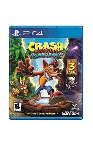 Crash Bandicoot N Sane Trilogy Playstation 4 Standard Edition