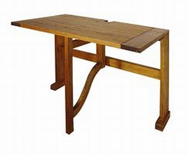 Caleo Terrace Mates Folding Patio Table