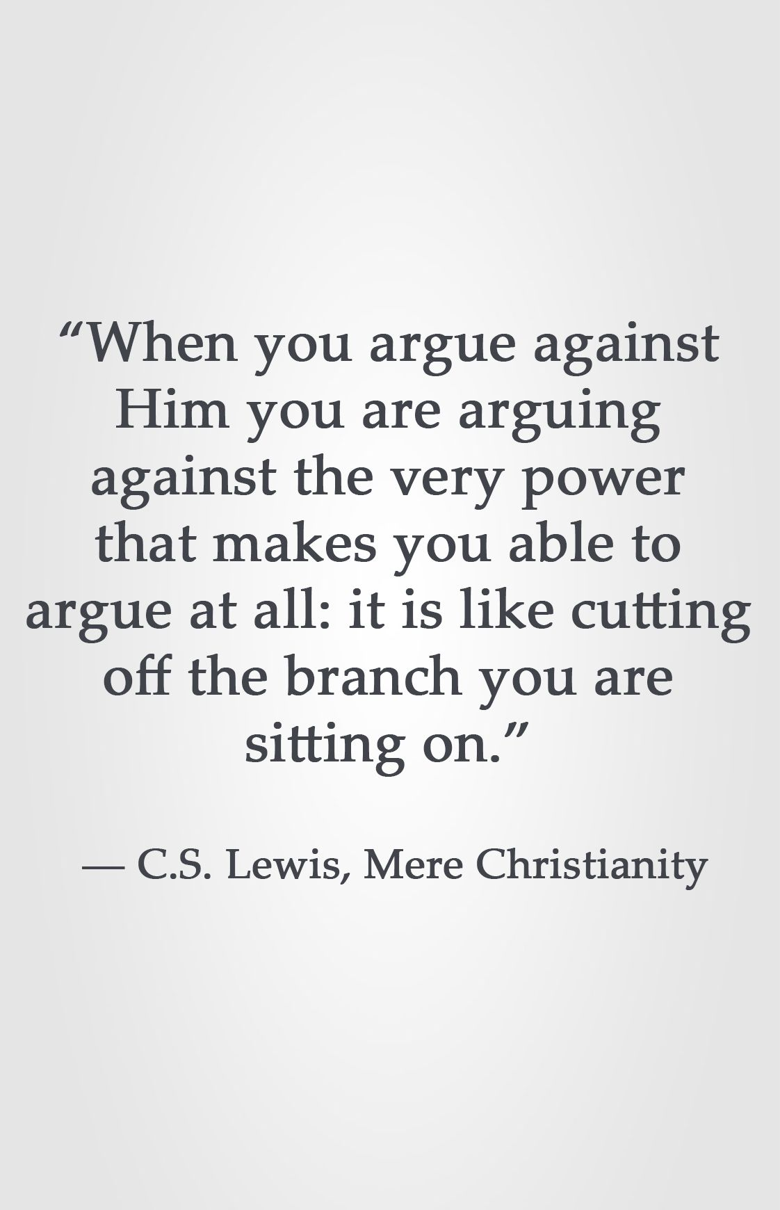 How to Argue Against Christianity