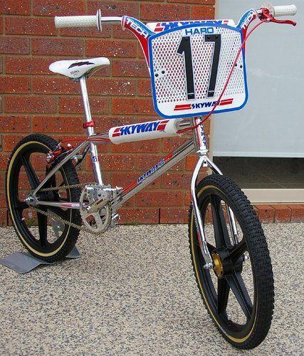 1984 Skyway T A Xl Bmx Cruiser Vintage Bmx Bikes Bmx Racing