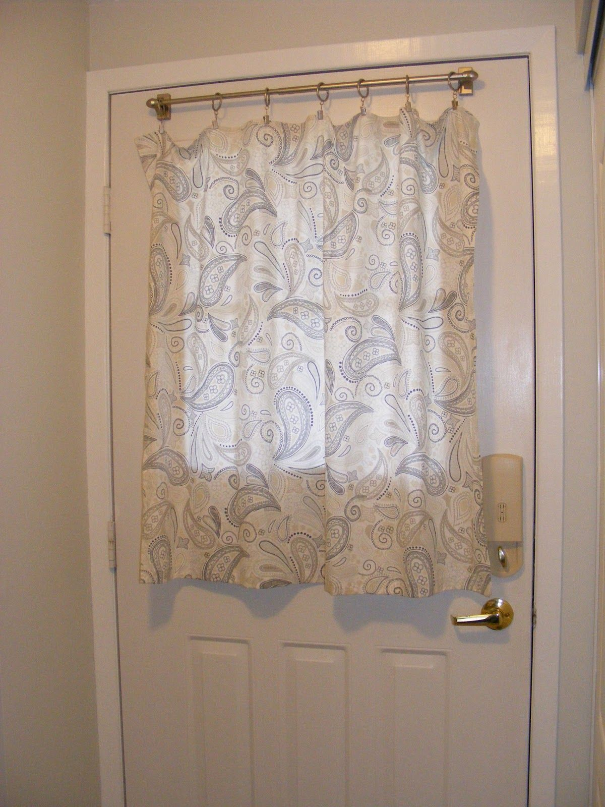French Door Curtains Window Covering Treatments Kitchen