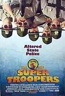 Super Troopers. Makes me pee my pants. Easily. My husband and I do the repeater every Christmas dinner.