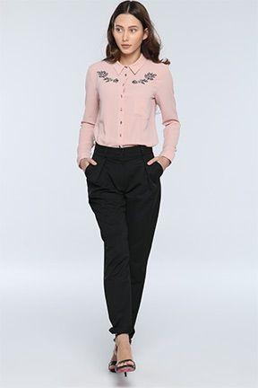 2fa0c6425e5db Kadın Gömlek, Beyaz Gömlek ve Kot Gömlek Modelleri | ABİYE | Beyaz ...