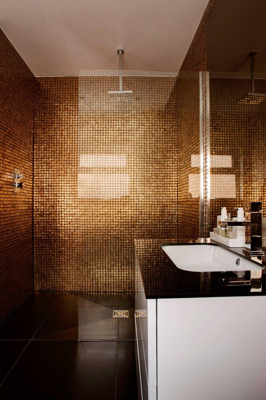Bagni Moderni Marroni.Mosaico Bagno 100 Idee Per Rivestire Con Stile Bagni