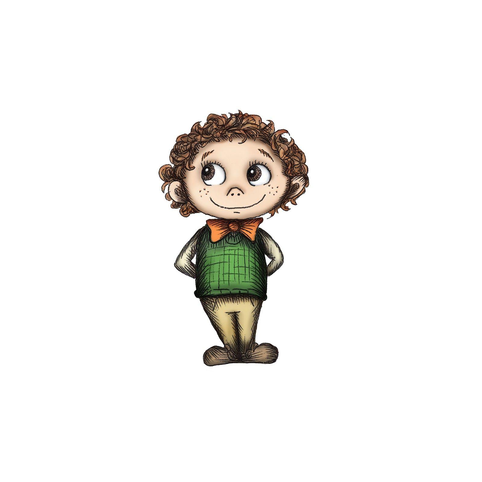 Boy- Character Design Hannah Tuohy Illustration