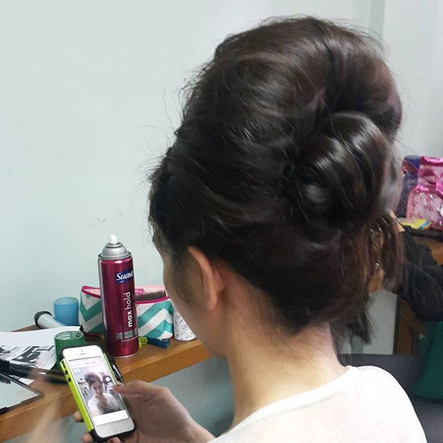 HAIRSTYLE 6 by Aimee G. | BIG 1960's UPDO  @mumphilippines #MUMworkshop #Hairstyling #MakeupByAimeeG  #updo #hairstyle #hair #hairstylist #bridal #1960shair #1960s #bighair by makeupbyaimeeg