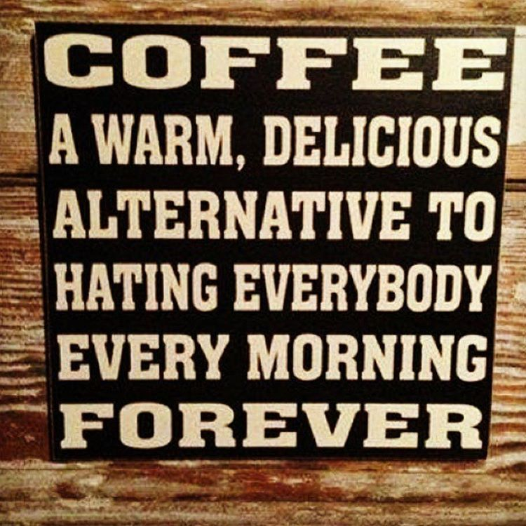"""""""Oh yes!!! Buenos Dias people☕️ #repost via @thecoffeepot_houseofbeans #butfirstletmedrinkmycoffee #coffee clothes #livelovecoffee #coffeesesh"""""""