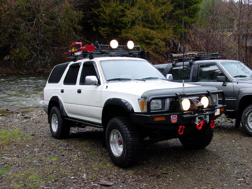 Wiring Up Auxiliary Lights 2nd Gen 4runner Yotatech Forums 4runner Toyota 4runner 4runner Accessories