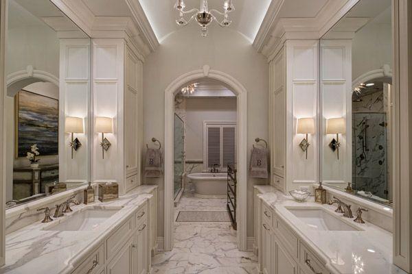 Chicago Brownstone Master Bath Remodel - Drury Design | Master ...