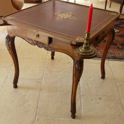 Very Fine, Regence Period Table De Cabaret à Jeux (game Table): In