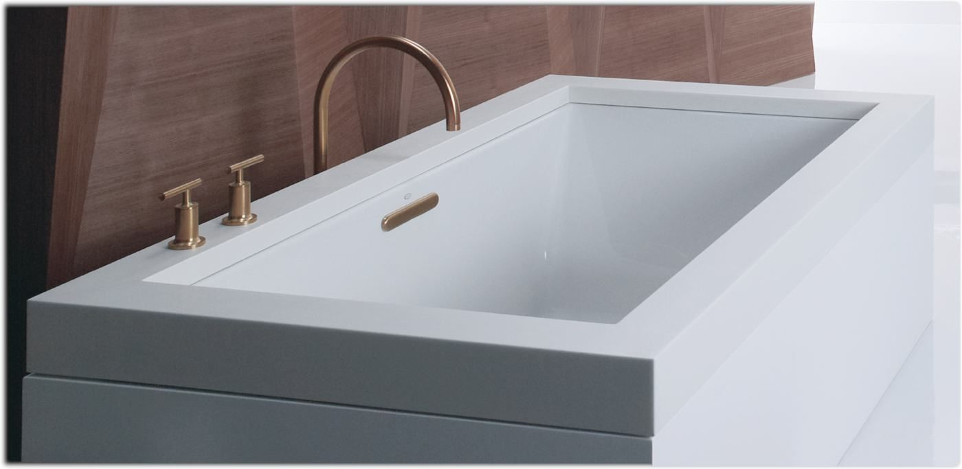 6 ft asian style soaking tub