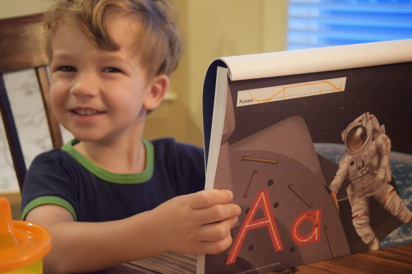 All Kinds of Things: Homeschool Pre-school Ideas for Letter a Week (Budget-Friendly Tips Included) @allkindsblog
