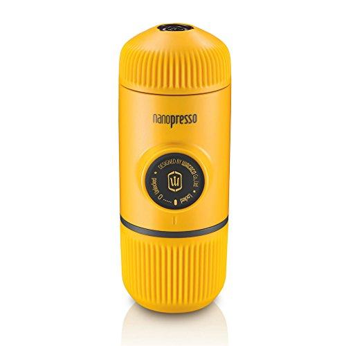 Wacaco Mini Portable Espresso Maker Manual Coffee Maker Nanopresso Yellow #espressomaker