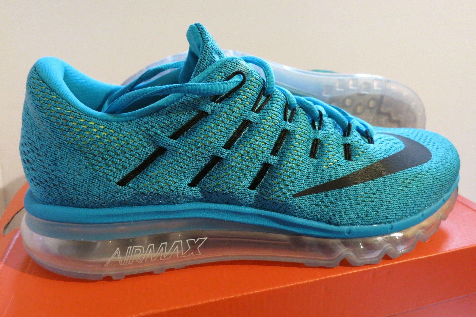 Nike Air Max 2016 Blue Lagoon Black Brave Blue 806771 400
