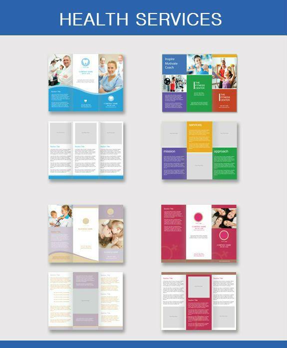 Standard Brochure Sizes  Brochures    Brochure Size