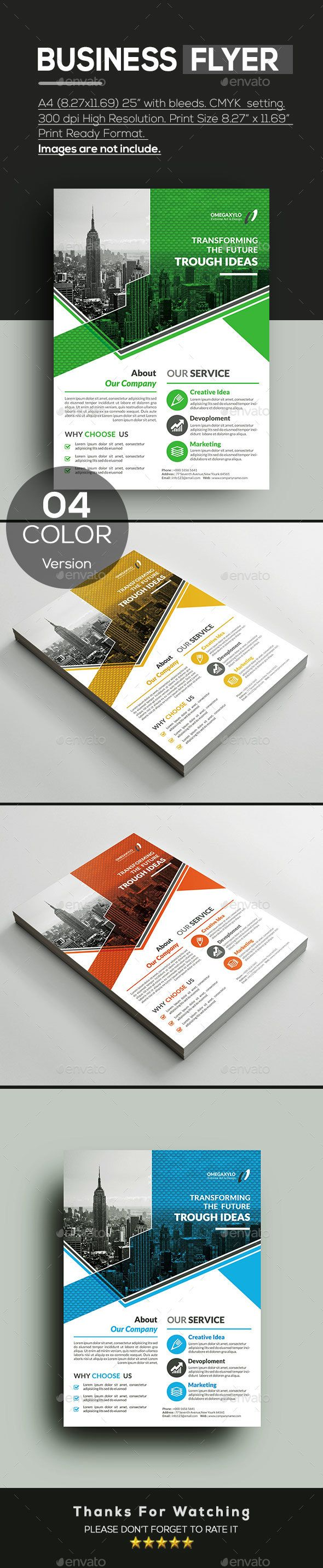 Business Flyer Corporate Flyers Business flyer