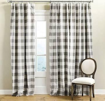 buffalo check curtains - Google Search