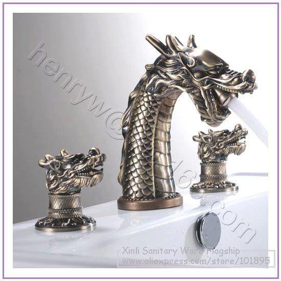 Dragon Themed Item Sink Faucet