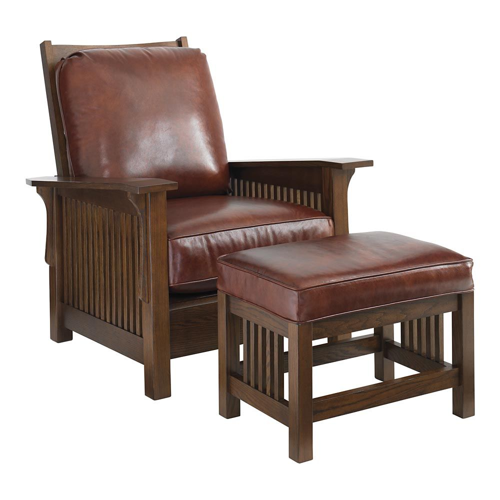 morris chairs for sale recycled plastic outdoor rocking grove park chair by bassett 1 619 mission craftsman prairie style living room furniture