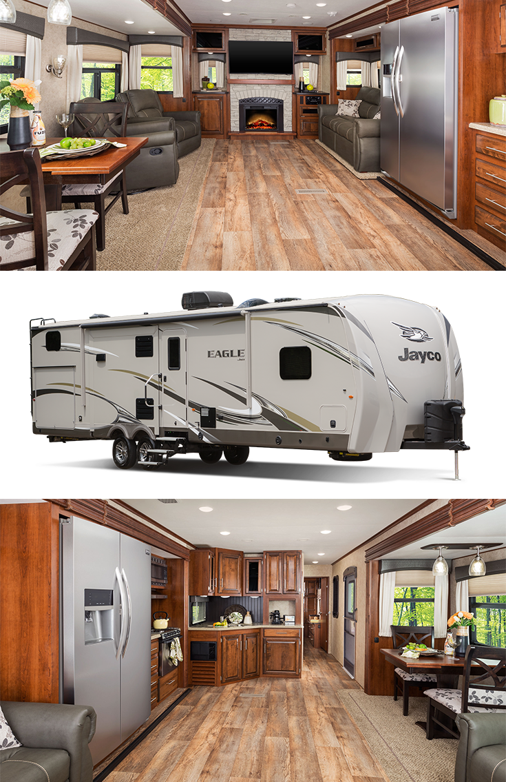 Check out the Jayco Eagle Travel Trailer | Perfect camper