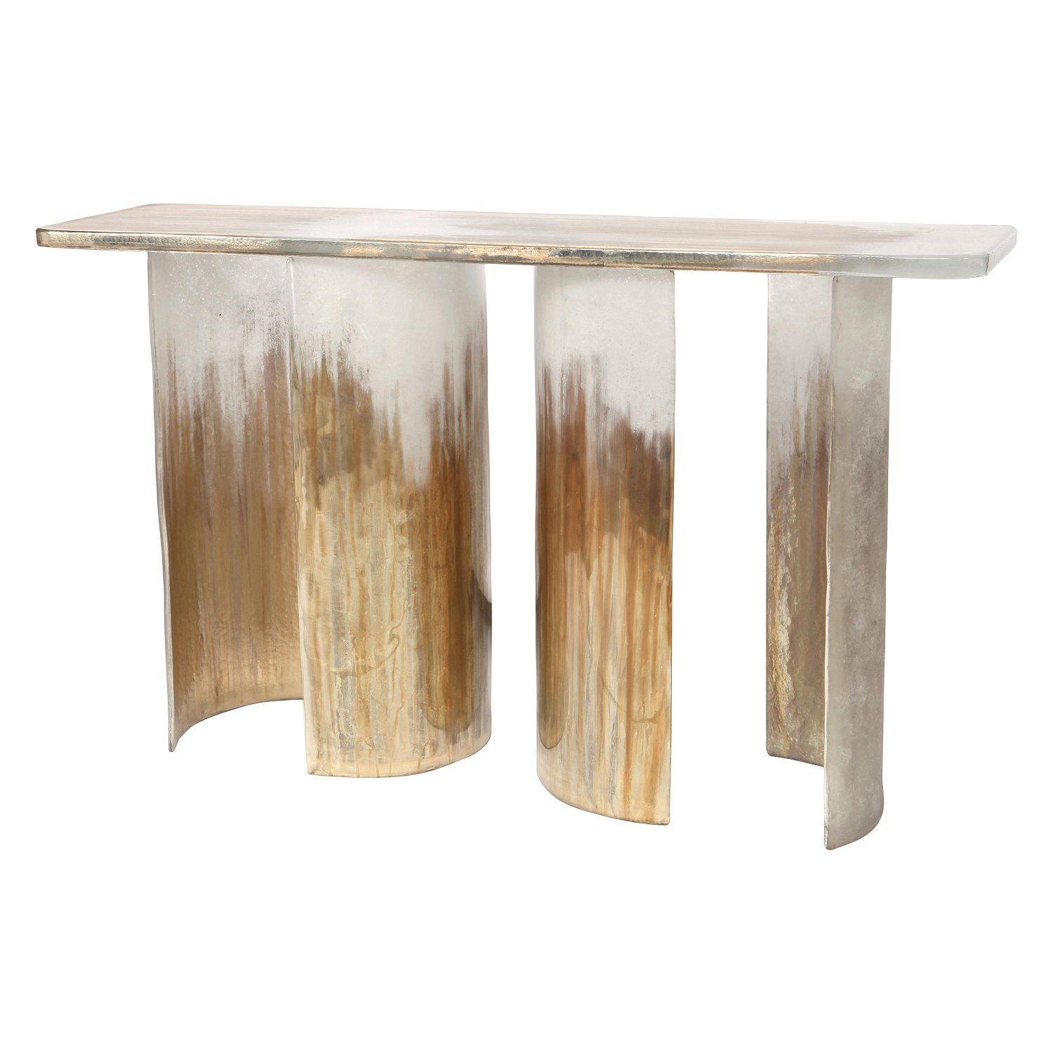 Cloud Console Made From Hand Silvered Murano Glass ...