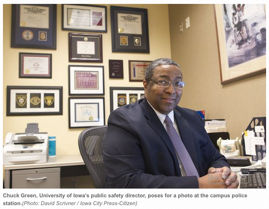 Green helped shape UI public safety into a police force The University of Iowa campus police force that Assistant Vice President for Public Safety Chuck Green now directs — until his retirement on...