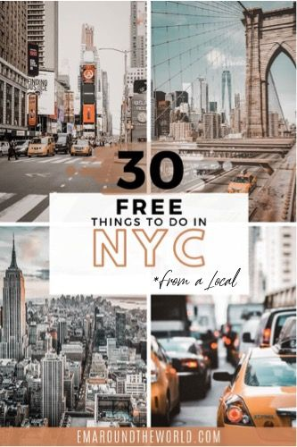 Photo of 30 Free Things to Do in New York City