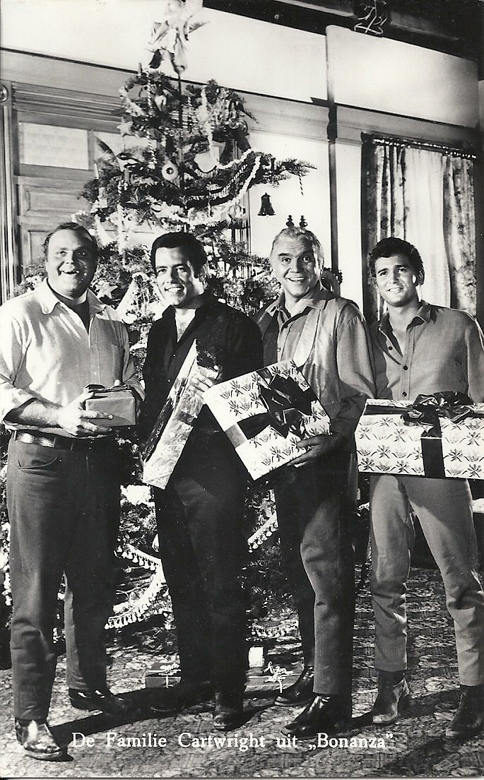 Christmas with the Cartwright family of Bonanza ( Hoss, Adam, Ben ...
