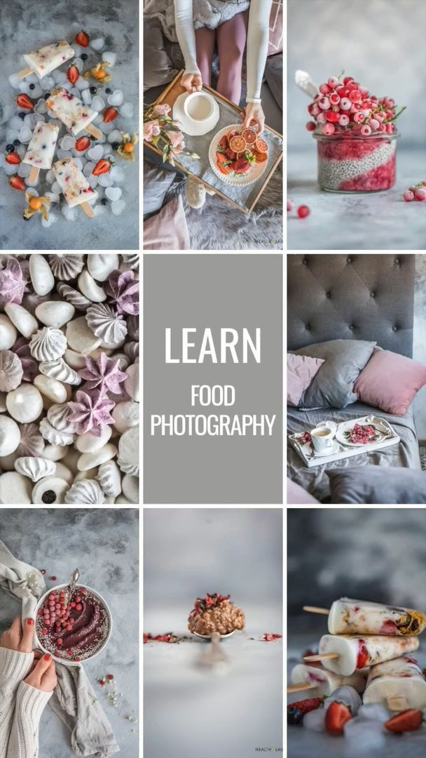 14 desserts Photography instagram ideas