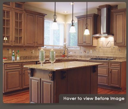 Before And After Pictures Refacing Cabinets | Before And After Cabinet  Refacing
