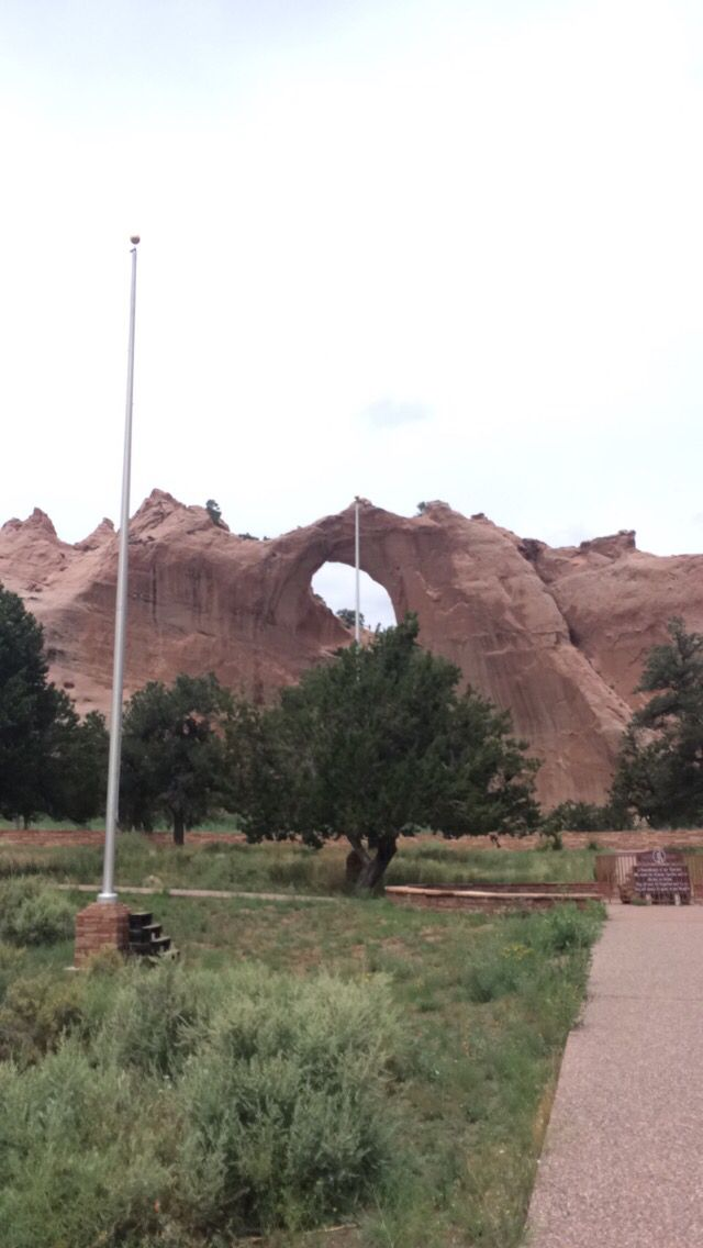 Window Rock in Gallop New Mexico